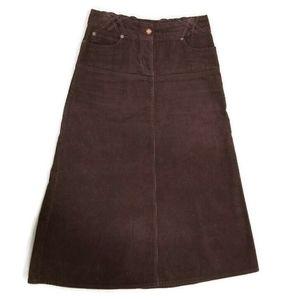 H&M Corduroy Long Skirt